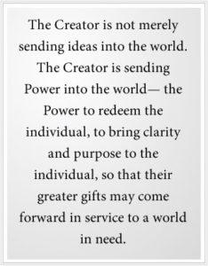 The Creator is sending Power