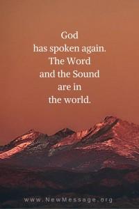 Hear God speak