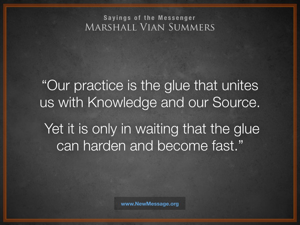 Our Practice is the Glue