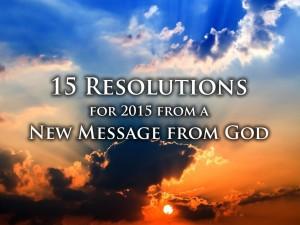 Spiritual New Year Resolutions