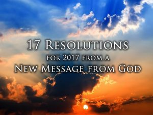 Spiritual new year resolutions