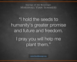 The seeds to humanity's greater promise
