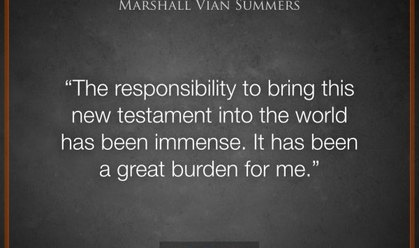 The responsibility and the burden