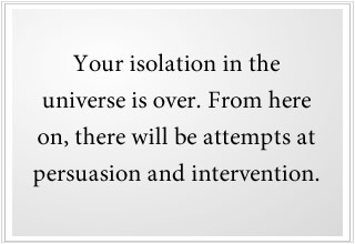 persuasion and alien intervention