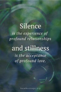 Silence and stillness with pure guided meditation.
