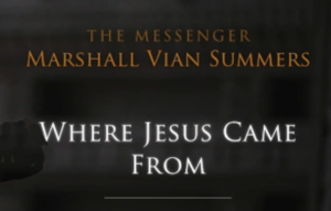 Where Jesus Came from
