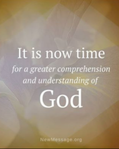 A greater comprehension of God