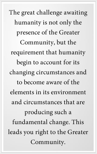 Humanity's great challenge