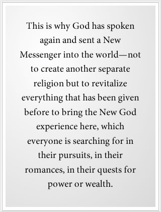 A new messenger is here to bring the new god experience