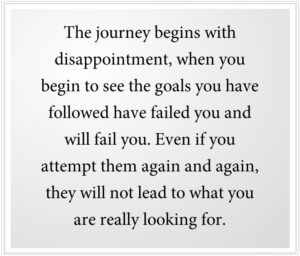 The Greater Journey begins with Disappointment