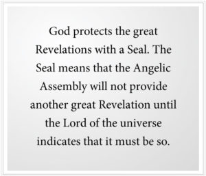 God protects the great Revelations with a Seal of the prophets