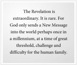 The new revelation is extraordinary