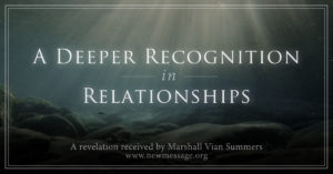 deeper recognition in relationships