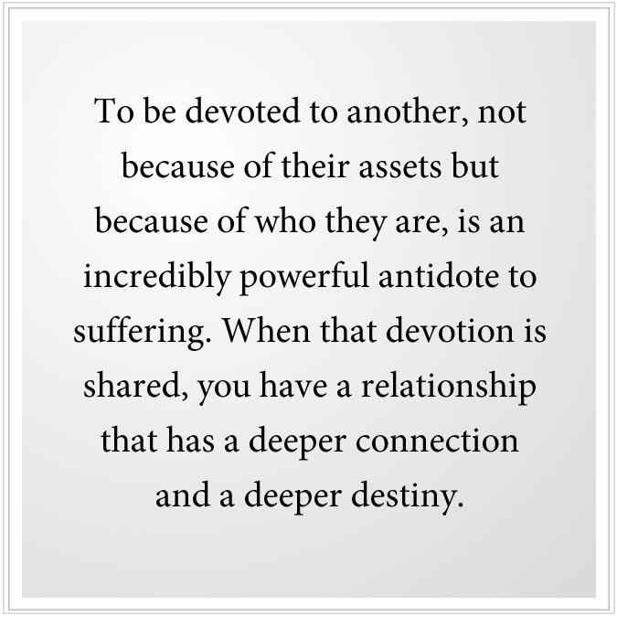 relationship that has a deeper connection