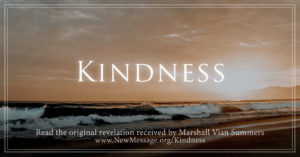 Kindness is