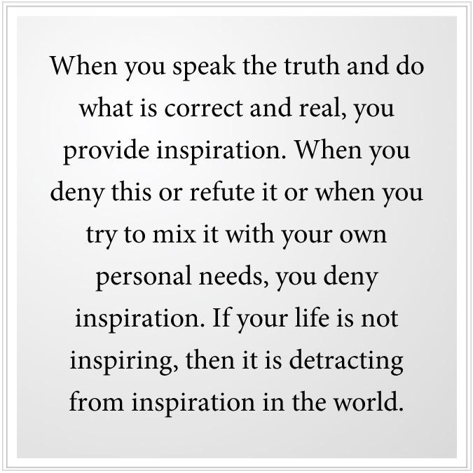 provide inspiration