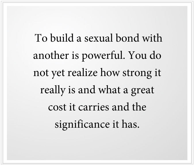sexual bonds are powerful