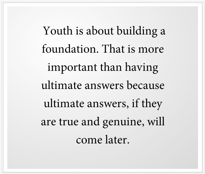 Help for Young Adults - Build a Foundation