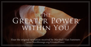 The Greater Power Within