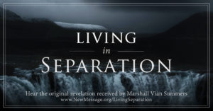 Living in Separation - Feeling alone and afraid