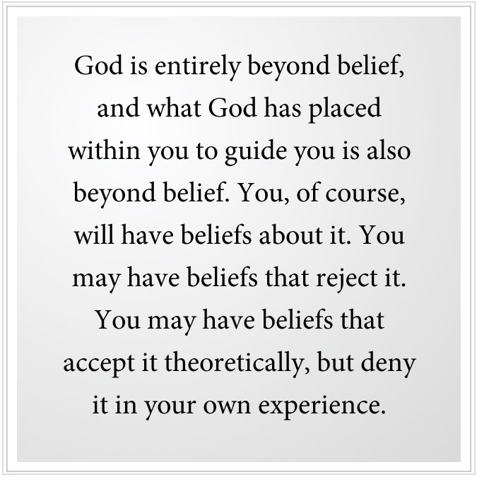 belief of god