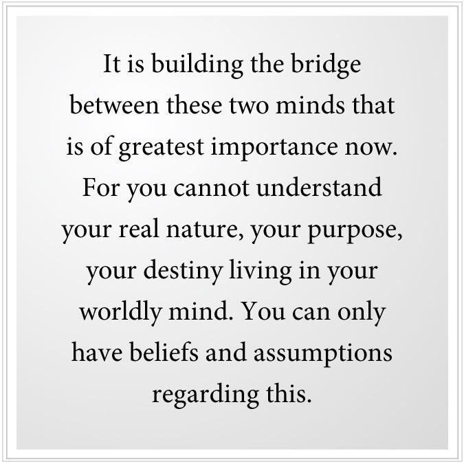 bridge between two minds