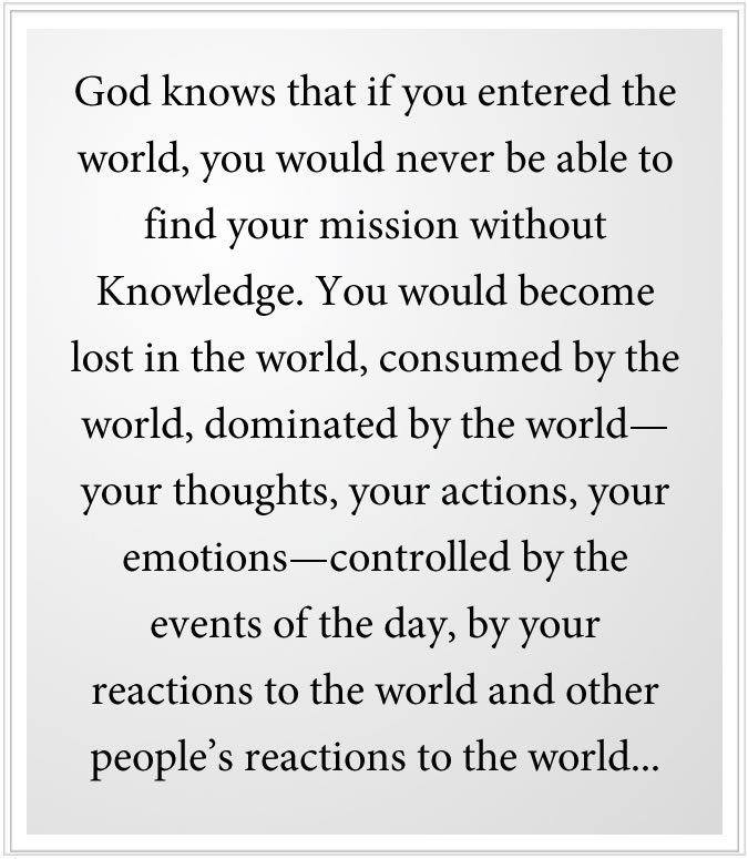 )find your mission from God