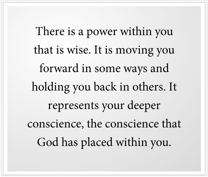 the greater power in you is wise