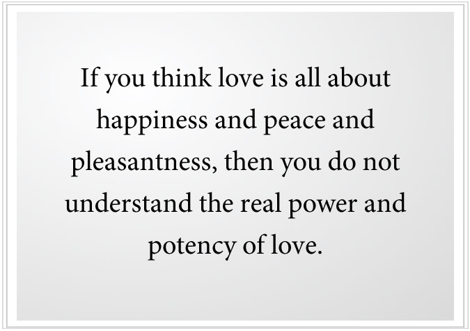 the greater power of love