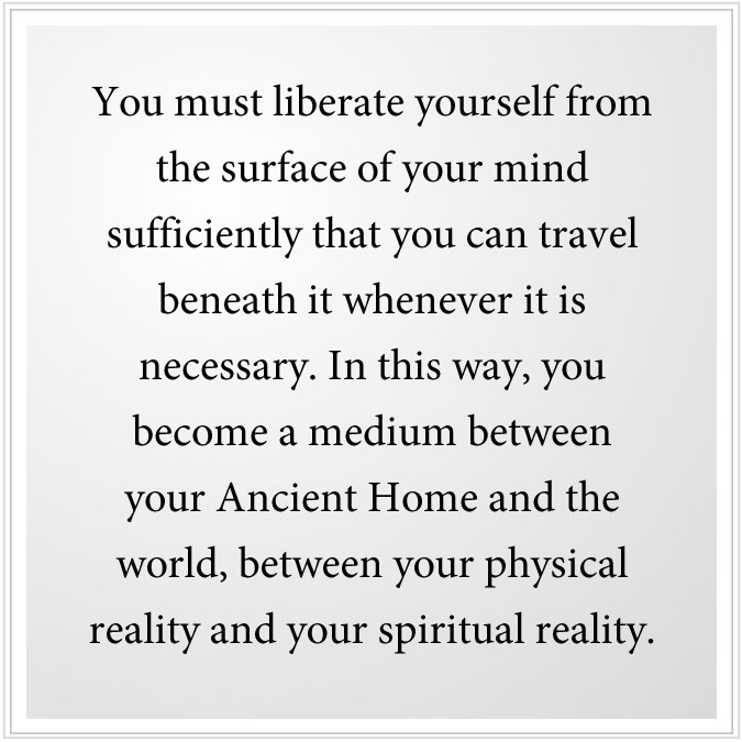 liberate yourself from your mind