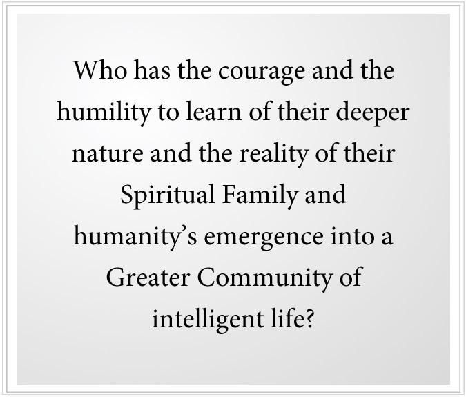 the reality of spiritual family