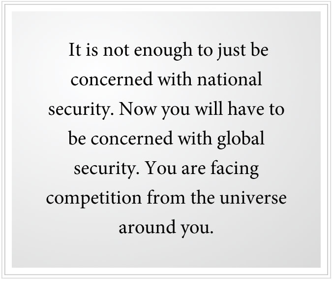 concern with global security