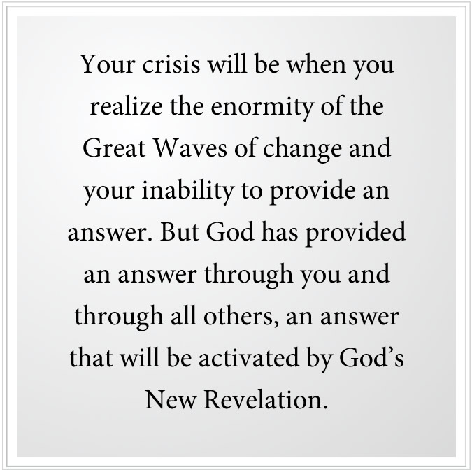 enormity of great waves of change
