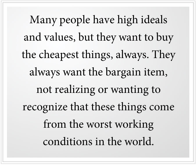high ideals in people