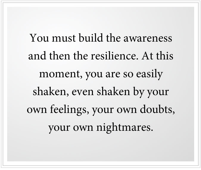 awareness and resilience