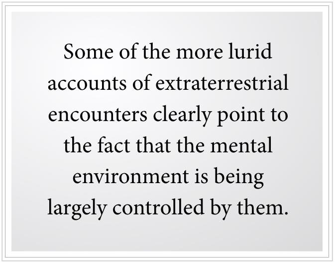 extraterrestrial encounters