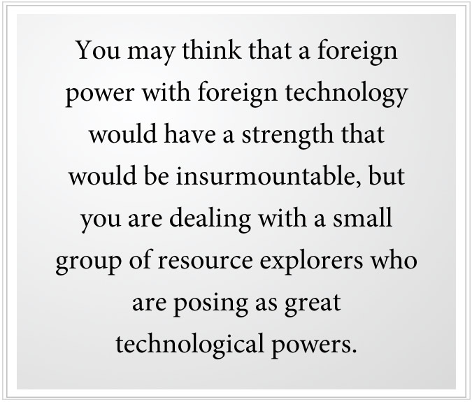 technology of foreign powers