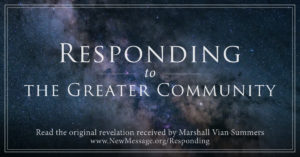 Responding to the Greater Community