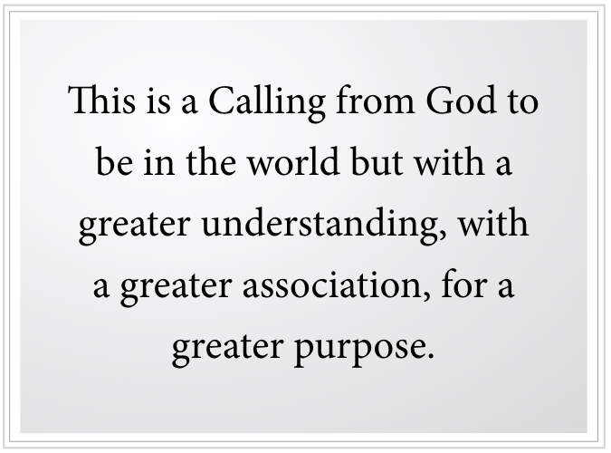 a Calling from God