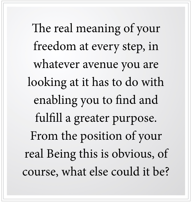 meaning of desire for freedom