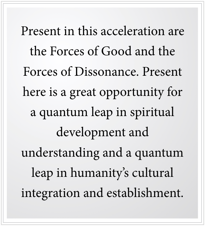 quantum leap in spiritual development