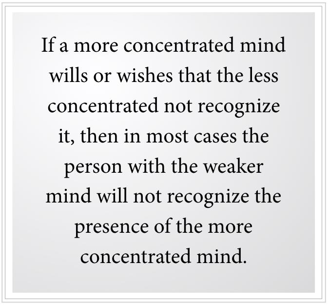 the weaker mind