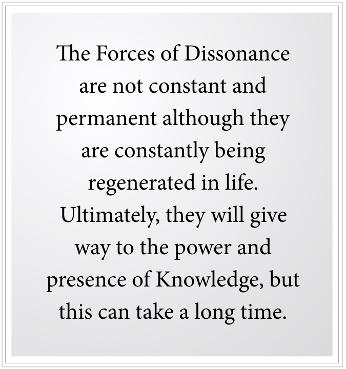 forces of dissonance