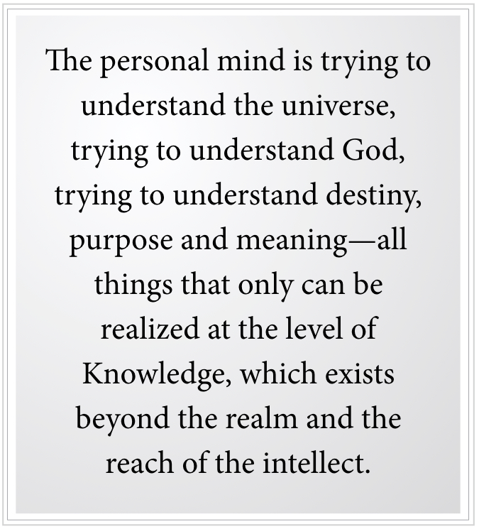 the personal mind